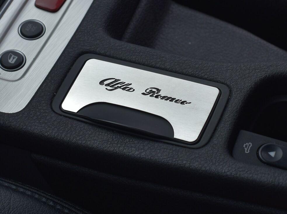 PLACCA ALFA ROMEO BRERA SPIDER PINIFARINA TBI JTD JTS 4X4 V6 Q4 JTDM Q-TRONIC*1