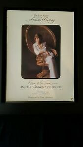 Anne-Murray-Keeping-In-Touch-Rare-Original-Promo-Poster-Ad-Framed
