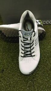 a33260a26ef New Men's Ecco Biom Hybrid 2 Softspike Golf Shoes White/Black Size ...