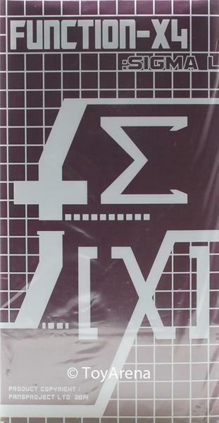 Fansproject diverdeimentoction X-4 Sigma L X-04  azione cifra Transformers  a buon mercato
