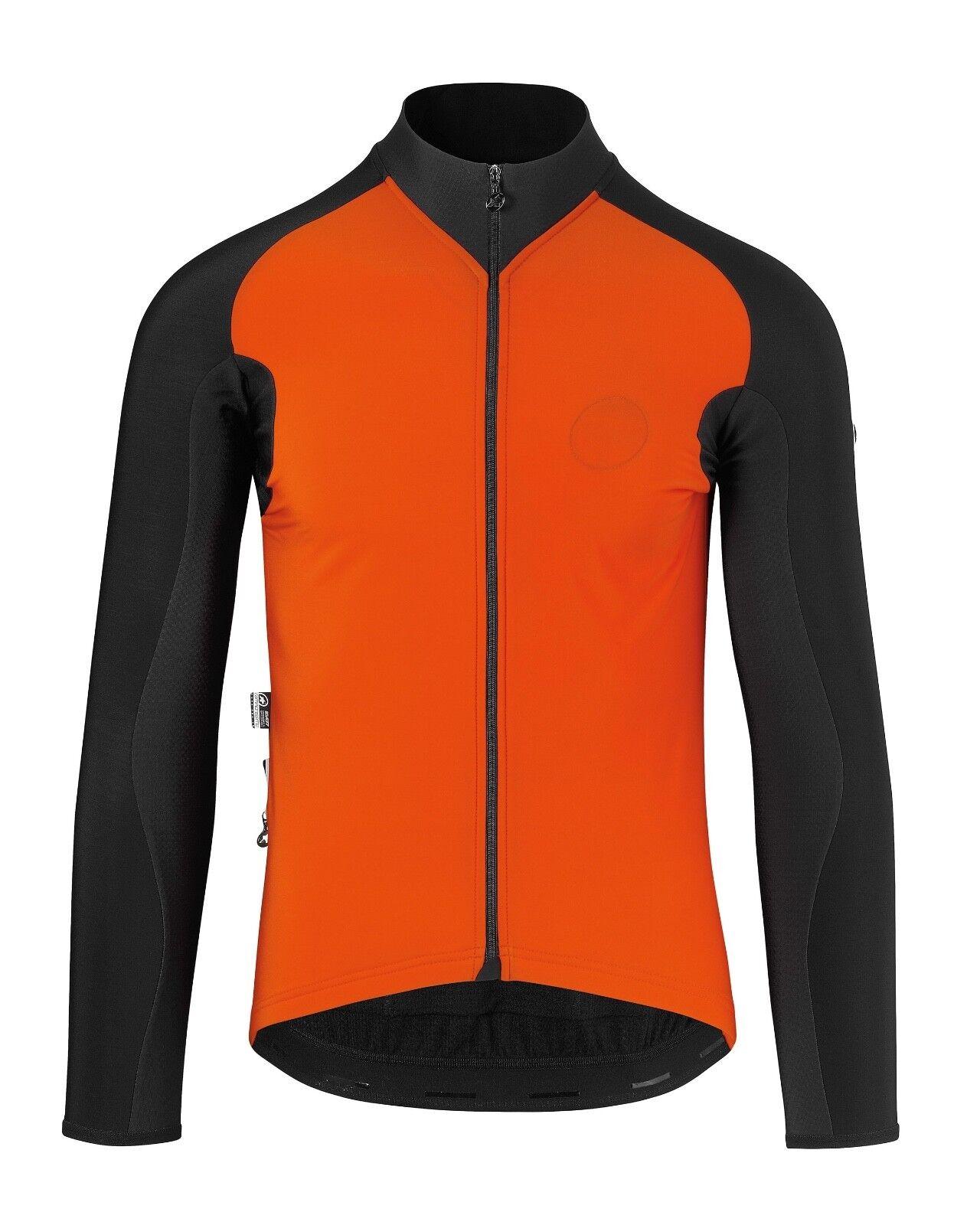 New ASSOS IJ.TIBURUJACKET_EVO7 MIDWEIGHT LONG-SLEEVED Jacket Größe Medium