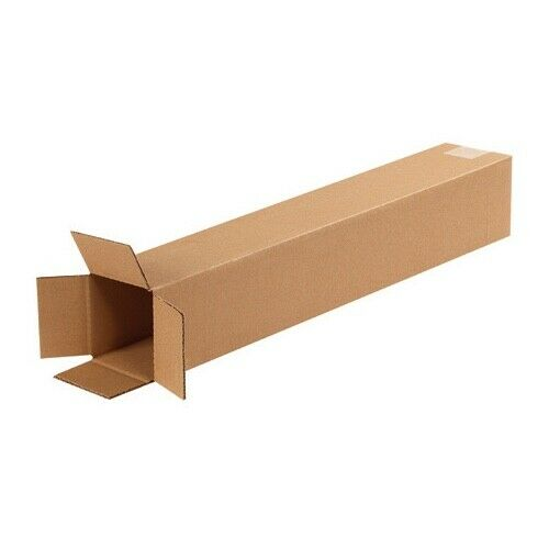 100-4 x 4 x 24 Corrugated Shipping Boxes Storage Cartons Moving Packing Box
