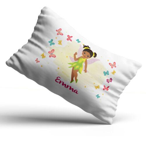 Personalised Fairy Pillowcase Children Printed Gift Custom Print Made Present