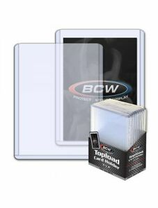 BCW Sealed Pack of 10 2.75mm 108 pt. Toploaders! Quantity Available!