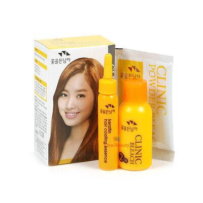 Hair Lightening CLINIC POWDER BLEACH Kit for highlights or whole hair bleach