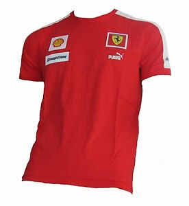 ferrari t shirt kimi r ikk nen puma formel 1 formula one. Black Bedroom Furniture Sets. Home Design Ideas