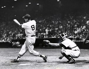 Details About Ted Williams Boston Red Sox Classic Home Run Swing Fenway Park