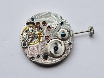 Tourby Cal. 74.3 Guilloche (based on ETA Unitas 6498 -2 movement) SWISS MADE