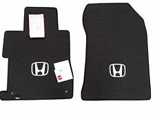 Honda Civic Coupe Custom fit floor mats Ebony Fits 2012-2013 Fronts only W/Logo