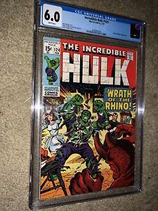 The Incredible Hulk #124 CGC 6.0…