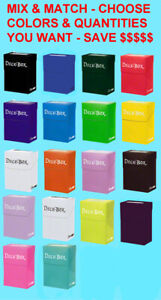 Ultra-Pro-DECK-BOXES-MIX-MATCH-COLORS-QUANTITY-Standard-Small-Size-Card-Box