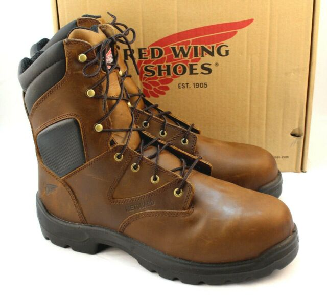 New RED WING 4422 Size 14 D Safety Toe