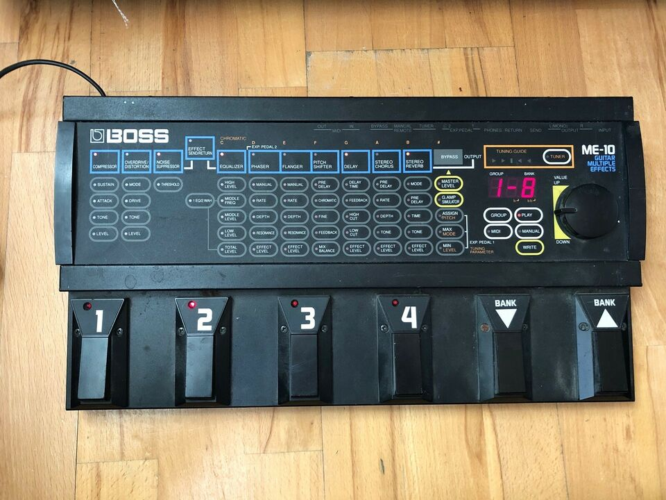 Tc electronic & boss me-10, TC