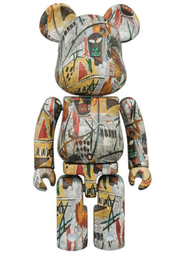 Medicom 2019 Jean-Michel Basquiat Printings 200/% Chogokin Bearbrick Be@rbrick
