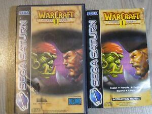 WARCRAFT-II-2-THE-DARK-SAGA-SEGA-SATURN-COMPLET