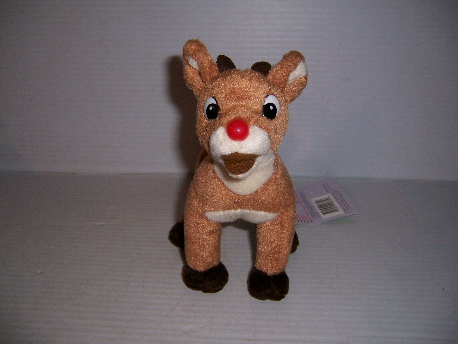 1998 Stuffins CVS Island of Misfit Toys Rudolph Red Nose Reindeer 7  Plush NWT