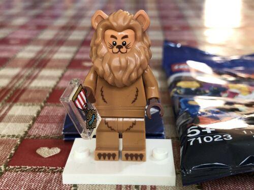 Wizard Of Oz New The Lego Movie 2 Minifigure Cowardly Lion 71023