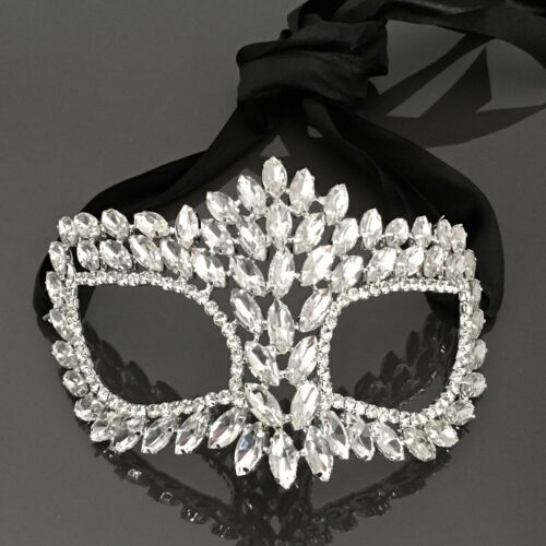 Women Dress Up Party Crystal Celebration Party Mask