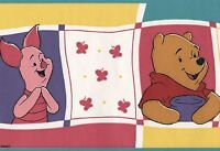Disney Winnie The Pooh Piglet Eeyore Childs Boy Girl Room Wallpaper Wall Border