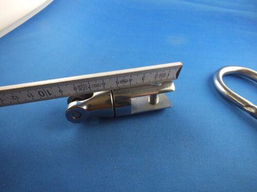 Ankerwirbel Wirbelschäkel BOJE Drehgelenk Edelstahl Bootanker 6/8mm Bügelbolzen Anker & Ketten