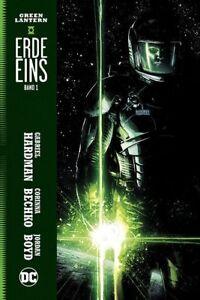 GREEN LANTERN ERDE EINS #1 HC deutsch HARDCOVER lim. 222 Ex. EARTH ONE Origin