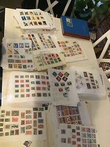 World Stamps Pages 20x full populated Ex-Dealers stock New stock free postage uk