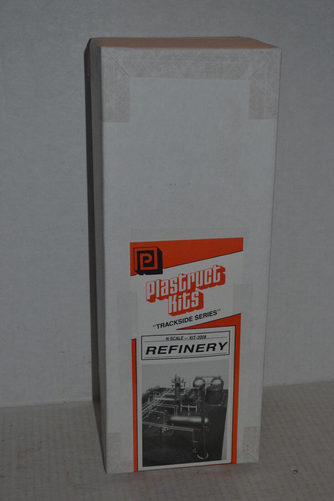 Plastruct 2008 Refinery Plastic Craftsman Style Model Kit N Scale