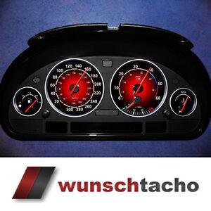 "Tachoscheibe für BMW E38-E39/E53/X5  ""Rote Nova""   Diesel"