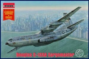 Roden-333-1-144-Douglas-C-133A-Cargomaster-Military-transport-aircraft-kit