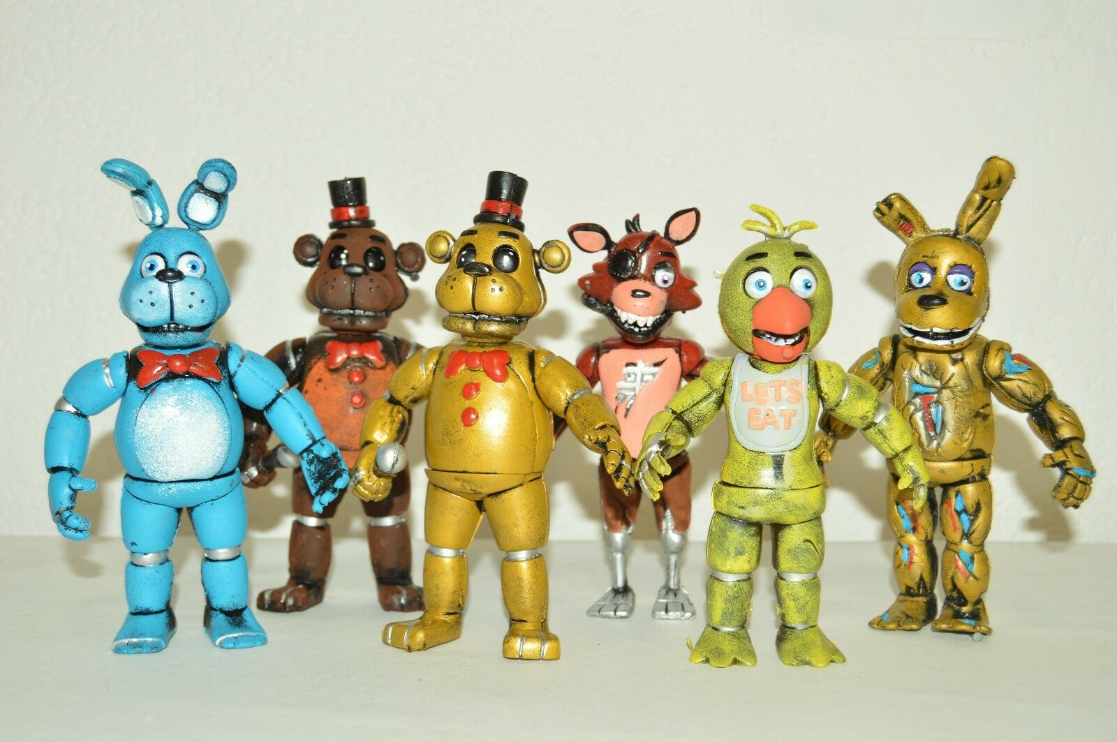 giocattolo MEXICAN SET 6 cifraS FIVE NIGHTS AT FrossoDY'S ANIMATRONICS FrossoDY 7 IN