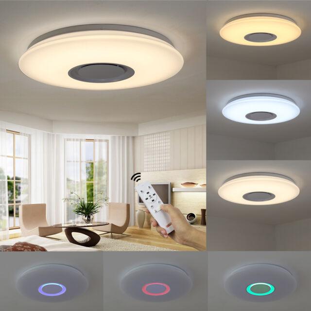 LED Deckenlechute Fernbedienung Lampe Schlafzimmer RGB Dimmbar Farbwechsel 817