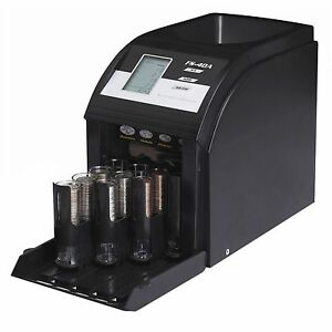 New Royal Sovereign Digital 4 Row Electric Coin Sorter