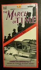 (1742) The March of Time - America at War American Defense Part 2 (VHS) NEW