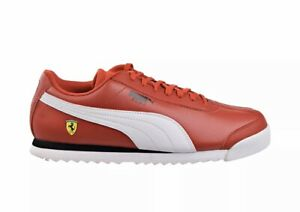 Puma-SF-Roma-Ferrari-Rosso-Corsa-White-Black-306083-12-Men-s-Size-12-New