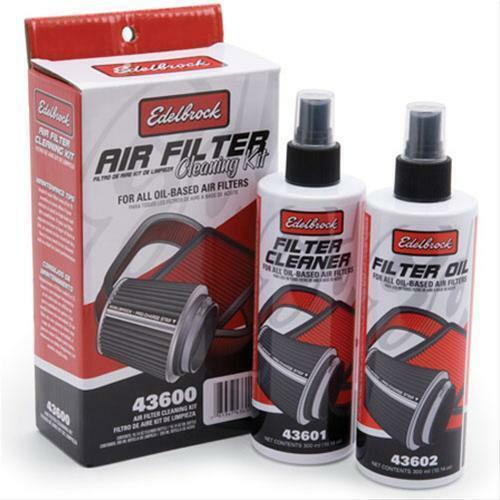 EDELBROCK PRO CHARGE AIR FILTER CLEANING KIT ED 43600