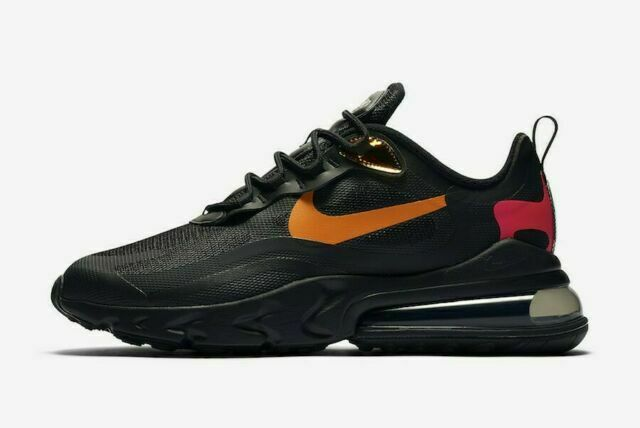 Size 8 - Nike Air Max 270 React Orange Iridescent