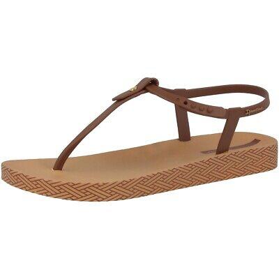 Ipanema Bossa Soft Sandal Damen Zehentrenner Steg Sandalen Brown 82626-8658