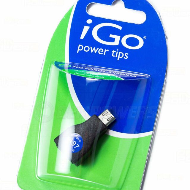 iGo Power A97 Tip works with Micro-USB Tablets/E-Reader/PDA/Cell Phone/Headset