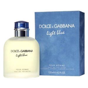 5f34ae0b7eccb7 DOLCE GABBANA D G LIGHT BLUE EAU DE TOILETTE HOMMES 125ml ...