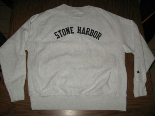 Vintage Champion Reverse Weave Stone Harbor NJ Gra