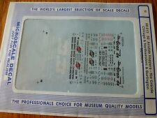 Microscale Decal N  #60-515 Assorted 50' Airslide Covered Hoppers: BN, C&NW, D&R