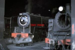 PHOTO-SOUTH-AFRICAN-RAILWAYS-LOURENCO-MARQUES-SHED-CLASS-15E-CLASS-4-8-2-THE