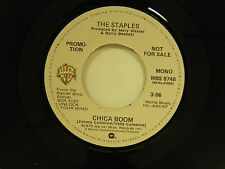 The Staples 45 CHICA BOOM  mono / stereo ~ M- Warner Brothers