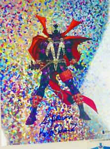 Keith-David-signed-SPAWN-11X14-holographic-photo-BAS-COA-H32769