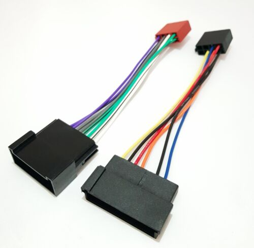 ISO Radio Adapter Ford Galaxy Seat Alhambra VW Sharan Anschlusskabel Kabelbaum