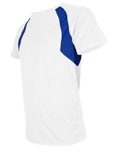 Mens Combi Sports T-Shirt Quick Dry Mesh Two Tone Size XS-XXL in 8 Colours nh251