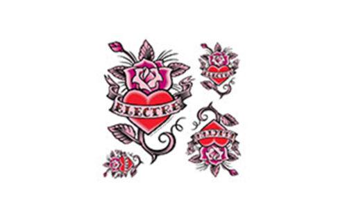 Fahrrad Aufkleber Electra Rosie Tattoo Sticker Set, Rahmen Decor Aufkleber
