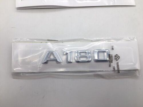 Heck Stamm A180 Schriftzug Chrom Abzeichen für Mercedes Benz A Klasse