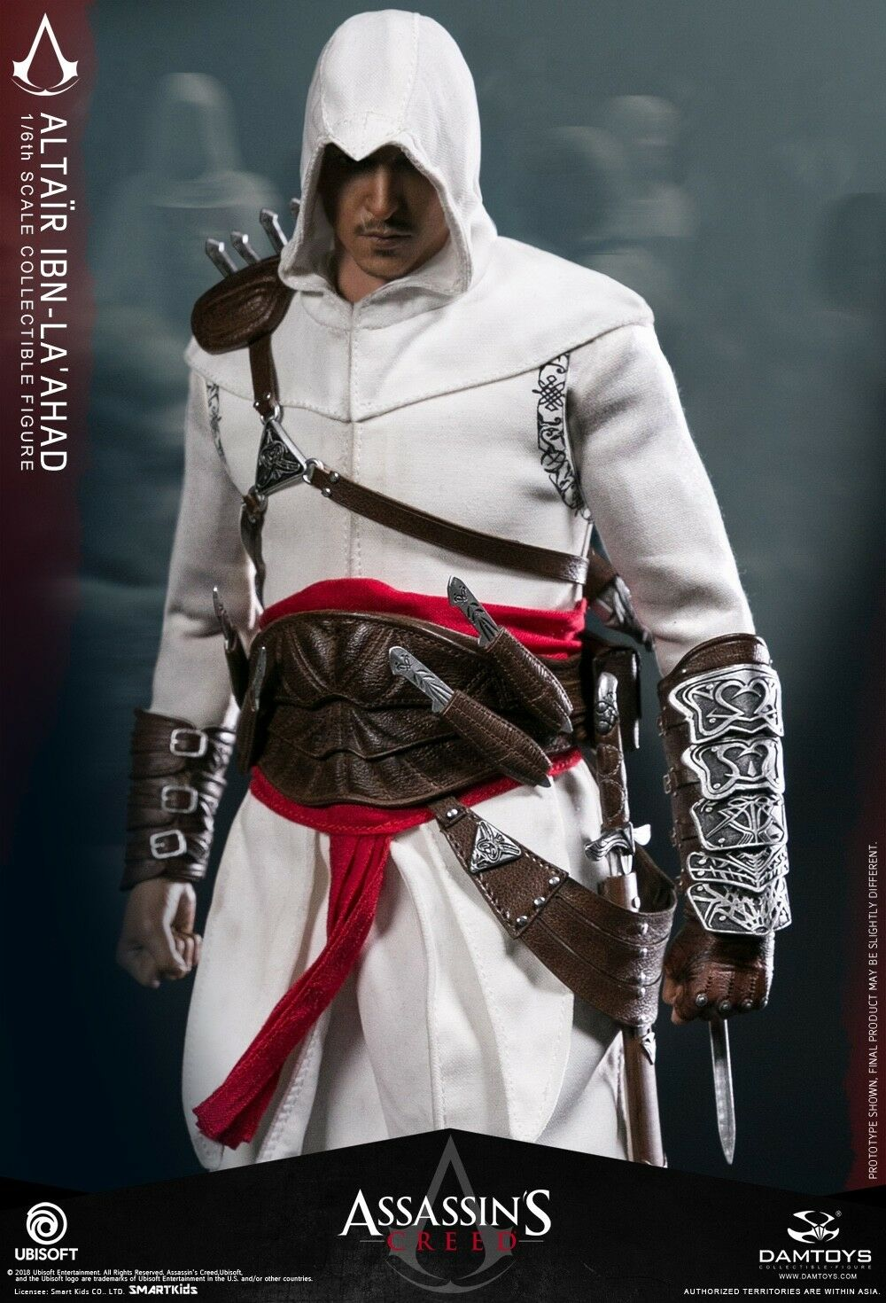 DAM TOYS DMS005 Classic Game Assassin's Creed I Altair the Mentor 1/6 Figure