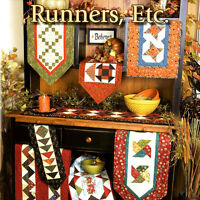 Book: Runners, Etc: 12 Beautiful Runners For The Perfect Fit